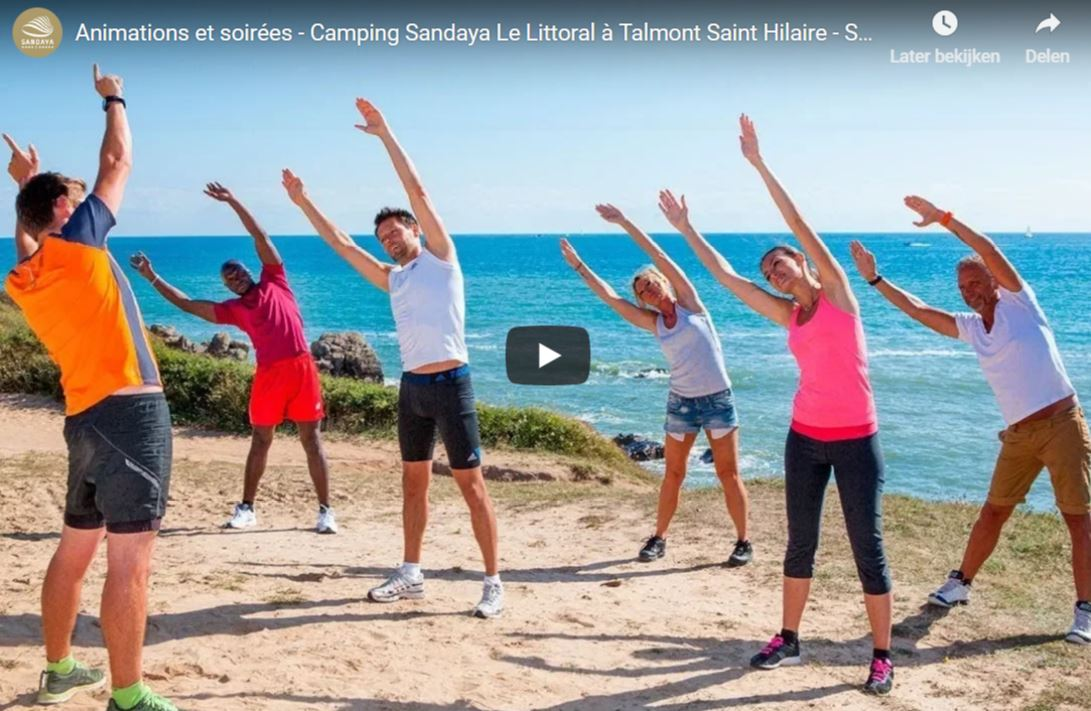 Animatie op Camping Le Littoral